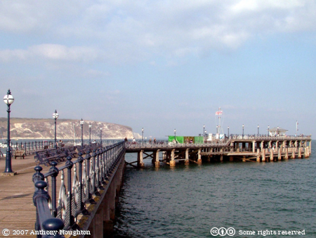 Swanage,Pier,Purbeck