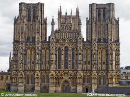 West Front,Church,Wells Cathedral