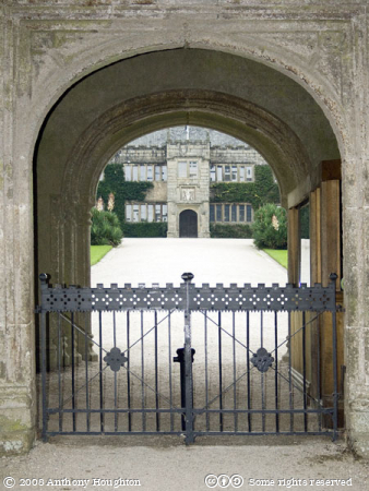 Gatehouse,Lanhydrock House,Stately Home