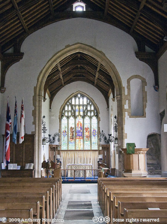 Overstrand Church,Interior,St Martins,St Martin's
