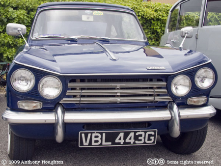 Triumph Vitesse,VLB433G,Car,Automobile