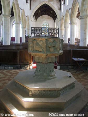 Happisburgh,Font,St Mary's Church