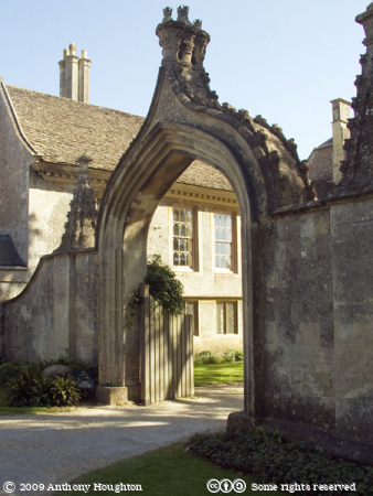 Gateway,Lacock Abbey,Stately Home,House