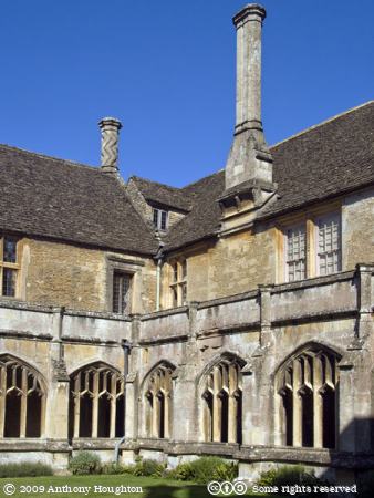 Cloisters,Lacock Abbey,Stately Home,House