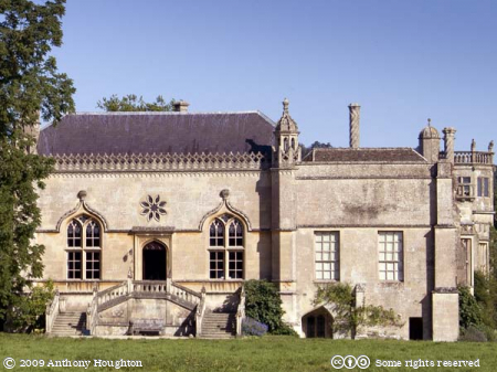 Lacock Abbey,Stately Home,House
