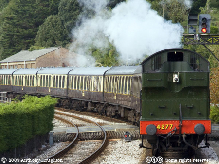 Train,Kingswear Station,Steam Engine,Locomotive,GWR,PDR,Paignton and Dartmouth Railway,Heritage
