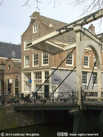 Groenburgwal,Bridge,Amsterdam,Houses