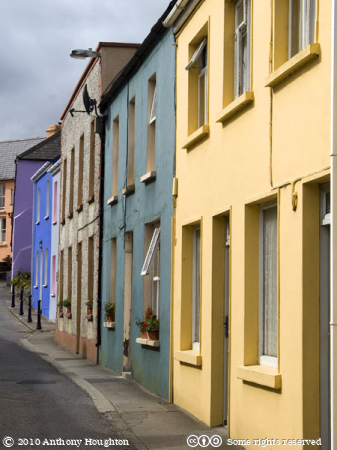 Eyeries,Houses,Street,Beara Peninsula