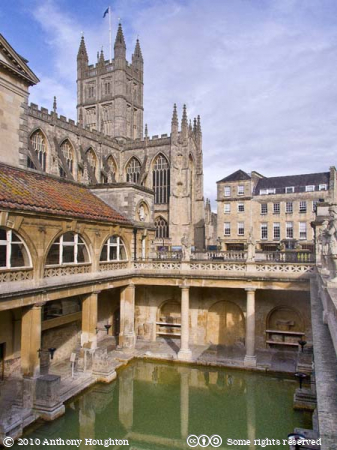 Bath Abbey,Roman Baths,Church