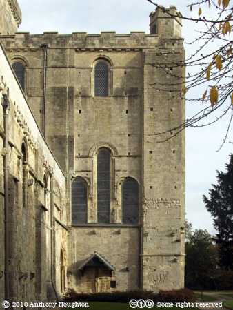 South Transept,Romsey Abbey,Church