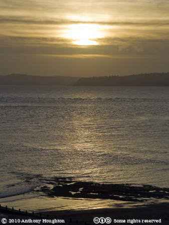 Sunset,Sky,Orcombe Point,Exmouth