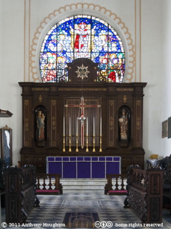 Sanctuary,Altar,Anglican Cathedral,Church