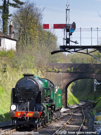 Lord Nelson 850,Alresford Station,Mid-Hants Railway,Watercress Line,Heritage,Steam Engine,Locomotive,Train