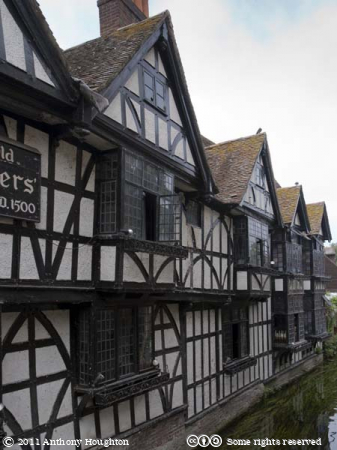 Old Weavers House,Canterbury,River Stour