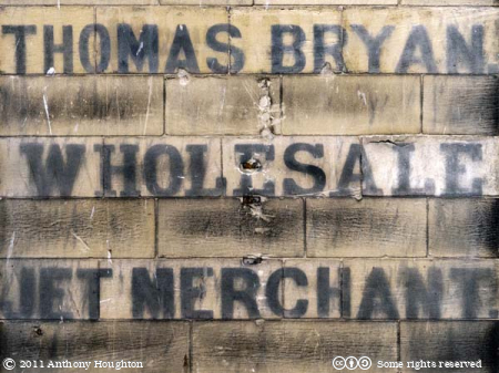 Thomas Bryan,Wholesale Jet Merchant,Sign,Baxtergate,Whitby