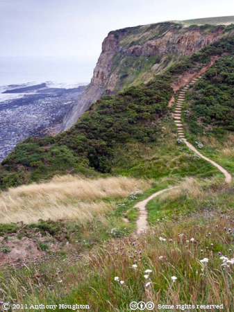 Coastal Path,Runswick,Cliffs