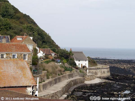 Runswick Bay,Houses