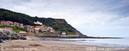 Runswick Bay,Sea,Cliffs