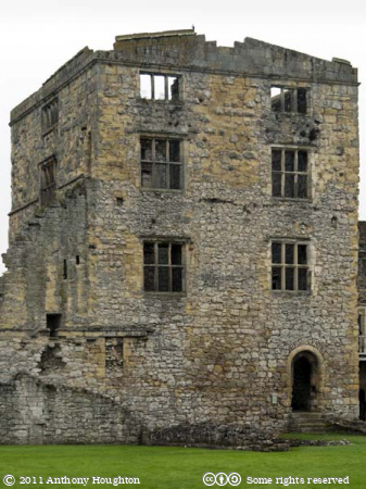West Tower,Helmsley Castle