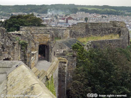 Barbican,Scarborough Castle