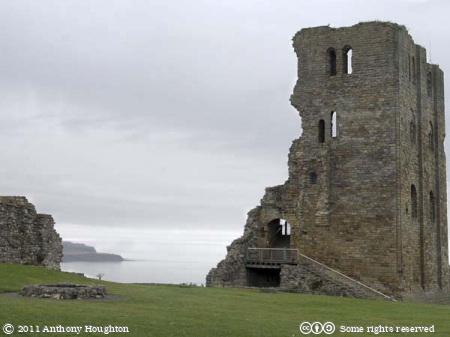 Keep,Scarborough Castle,Sea