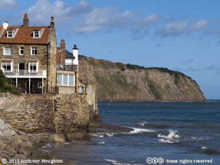 Slipway,Robin Hood's Bay,Houses,Sea