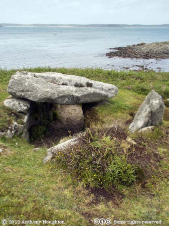 Innisidgen,Lower Entrance Grave,St Mary's,Tumulus,Barrow