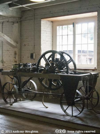 Ropery,Machinery,Historic Dockyard,Chatham
