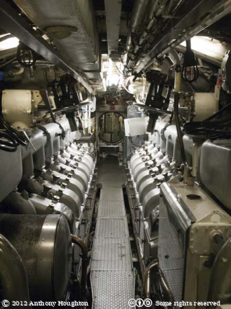 Engine Room,HMS Ocelot,Historic Dockyard,Chatham,Ship,Royal Navy,Submarine,Royal Navy