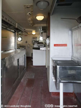 Galley,HMS Cavalier,Historic Dockyard,Chatham,Ship,Royal Navy