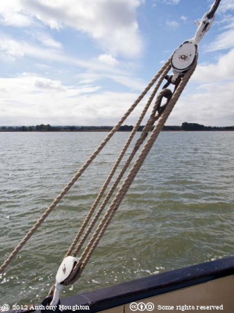Rope,Pullies,Edith May,Thames Barge,Boat