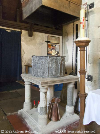 Font,Lower Halstow,Church,St Margaret of Antioch
