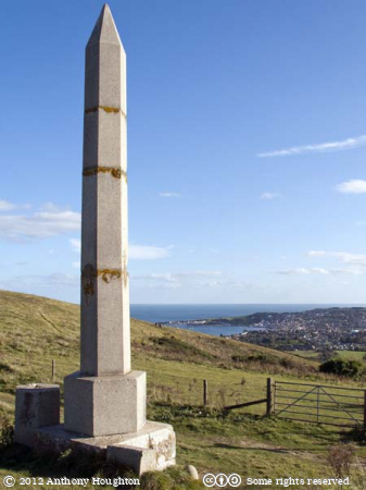 Swanage,Water Act,Obelisk,Ballard Down,Monument