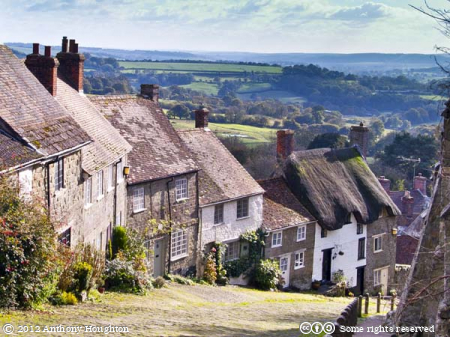 Gold Hilll,Buildings,Hovis,Abbey Wall,Shaftesbury
