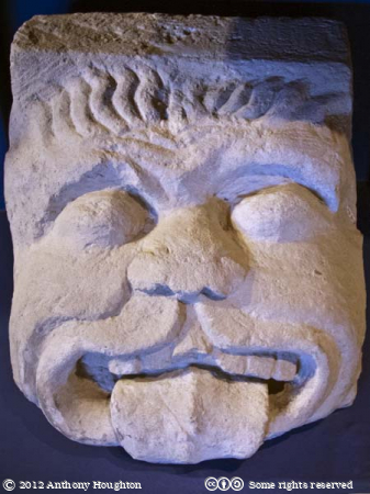 Corbel,Shaftesbury Abbey,Museum,Sculpture,Carving