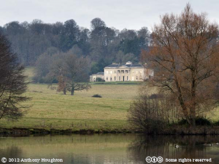 Philipps House,Dinton Park,Lake,Trees,Statley Home
