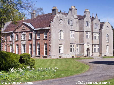 Edmondsham House,Building,Stately Home,Tourist,Visitor,Attraction