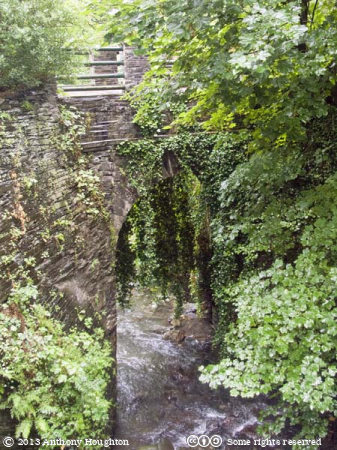Railway Bridge,Corris