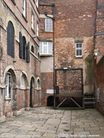 Prison Yard,Galleries of Justice,Nottingham,Jail,Gaol