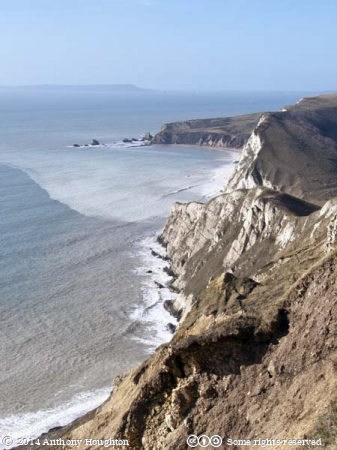 Bindon Hill,Lulworth,Sea,Cliffs,Jurassic Coast,Purbeck