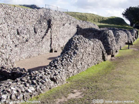 Courtyard House,Old Sarum,Salisbury,Castle