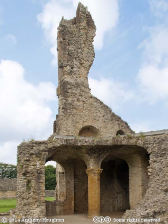 Great Tower,Sherborne,Old Castle,Ruin,English Heritage