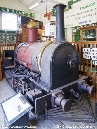 Secundus,Corfe Castle,Swanage Railway,Steam Engine,Locomotive,Pikes' Tramway,Heritage