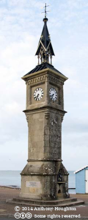 Shanklin,Victoria Diamond Jubilee Clock Tower