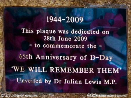 Plaque,D-Day Memorial,Lepe