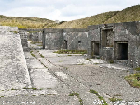 Tracks,Gun Emplacements,Verne High Angle Battery,Portland,Railway
