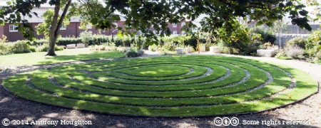 Maze,Quaker Burial Ground,Weymouth