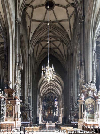 Nave,Stephansdom,Church,Vienna,Wien