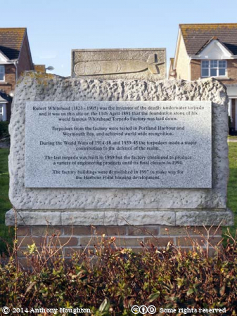 Whitehead Factory Memorial,Weymouth
