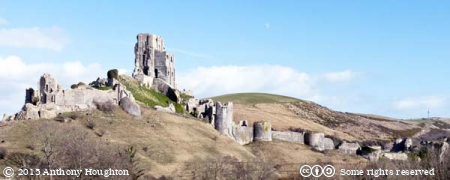 Corfe Castle,The Rings,Ruin,National Trust